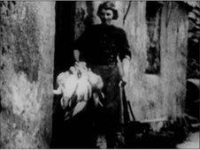 a 'bird woman' of St Kilda