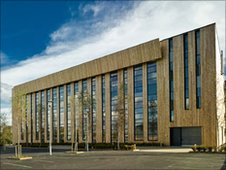 The new Woodland Trust headquarters in Grantham