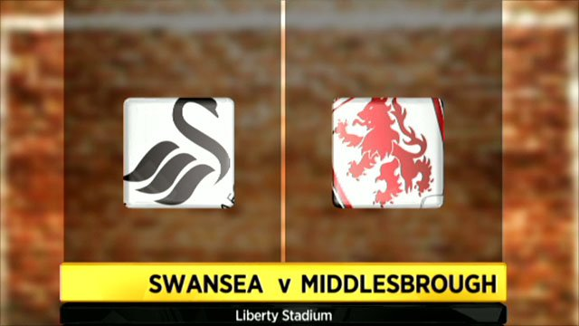 Swansea 1-0 Middlesbrough