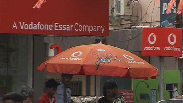 Vodafone shop in Mumbai