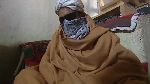 A Taliban commander 
