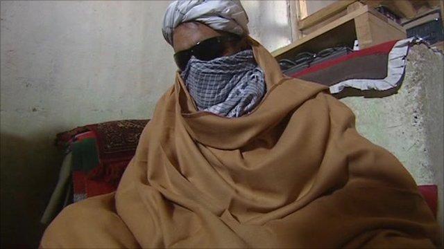 A Taliban commander