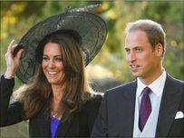 Kate Middleton a'r Tywysog William