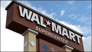Wal-Mart profits rise despite weak US sales