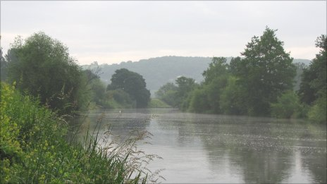 The river Wye. Pic: Wye and Usk Foundation