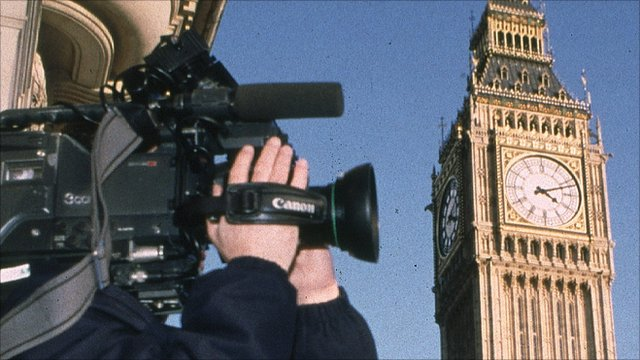 cameraman and big ben