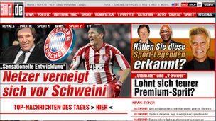 Bild newspaper grab