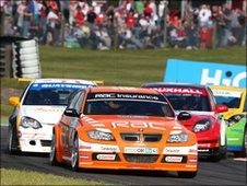 British Touring Car Championship at Snetterton