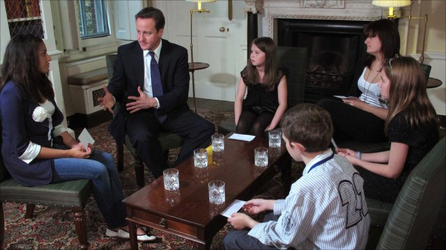 David Cameron and the young carers