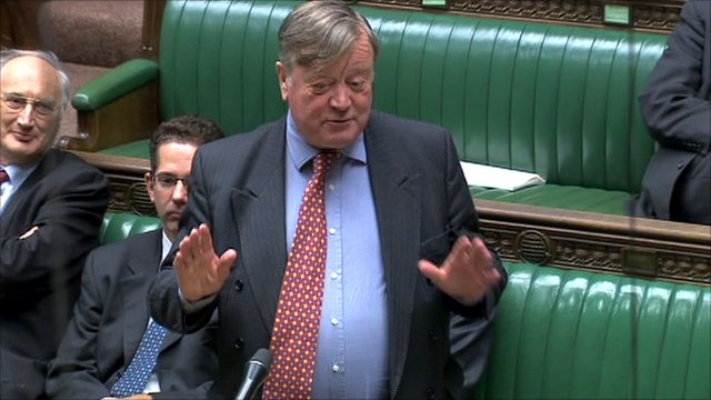 Justice Secretary Kenneth Clarke