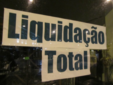 Portugal liquidation sign