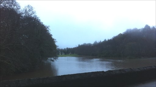 Flooding in the Glynn Valley by Bruce Bellingham