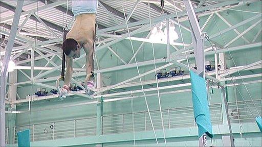 Gymnast Sam Hunter