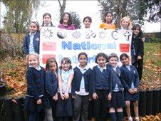 Children from the Worcester Interfaith choir