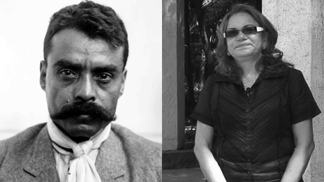 Archive photo of Emiliano Zapata - courtesy Archivo Casasola; Margarita Zapata