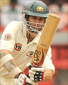 Simon Katich in action