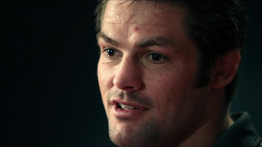 New Zealand captain Richie McCaw