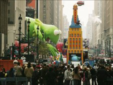 Thanksgiving Day Parade, New York