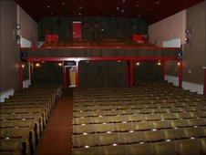 Tywyn cinema auditorium