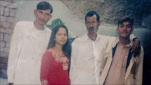 Pakistani Christian woman Asia Bibi is seen in an undated photo handed out by family members in Punjab province on November 13, 2010. 