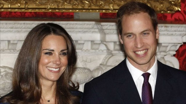 prince william wedding date and time. william and kate wedding date.