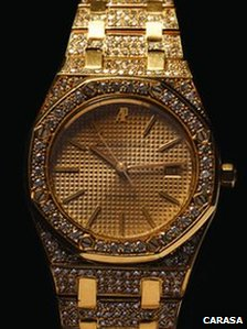 Audemars Piguet watch; Photo: carasa.com.mx 