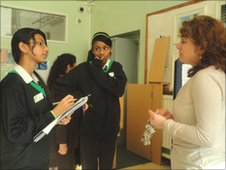 Interviewing at Alperton Community School