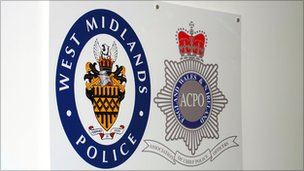 West Midlands Police sign