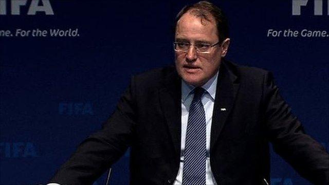 Fifa ethics committee chairman Claudio Sulser