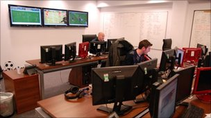 Monitoring football matches at Sportradar