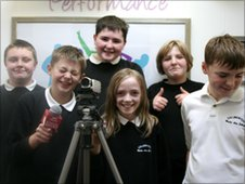School Reporters from Collingwood School and Media Arts College