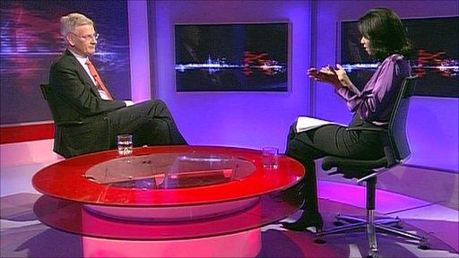 Carl Bildt on Hardtalk with Zeinab Badawi