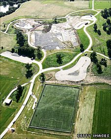 The National Footbal Centre site in Burton