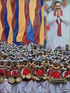 Traditional dancers perform at the ceremony