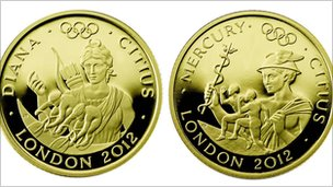 Royal Mint gold coins