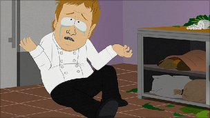 Jamie Oliver in South Park