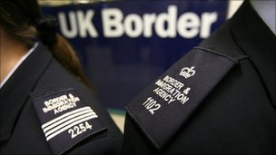 Border Agency officers
