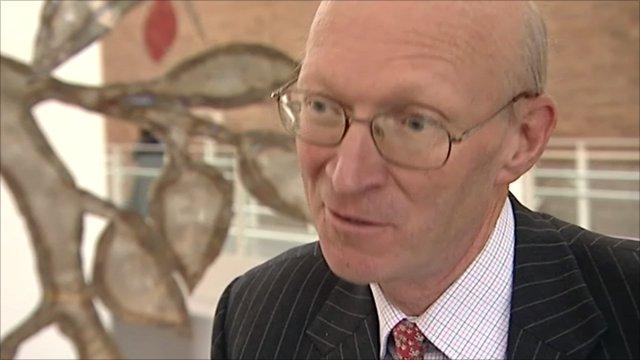 David Prior, NNUH Trust chairman