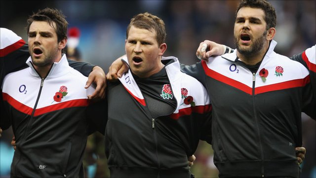 Ben Foden, Dylan Hartley and Nick Easter