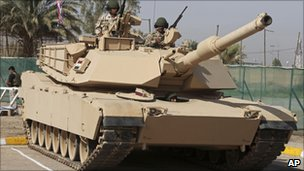 M1A1 tank, Baghdad (file photo, October 2010)