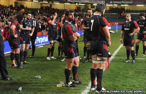 Wales reflect on the disappointing 16-16 draw with Fiji