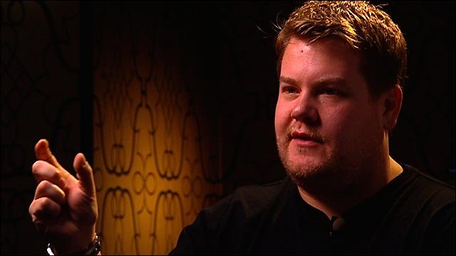 James Corden recalls Andrew Flintoff's retirement