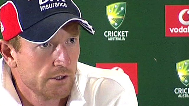 England batsman Paul Collingwood