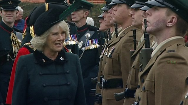 Duchess of Cornwall in Salisbury