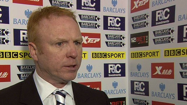 Birmingham City manager Alex McLeish