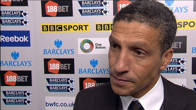 Newcastle United manager Chris Hughton