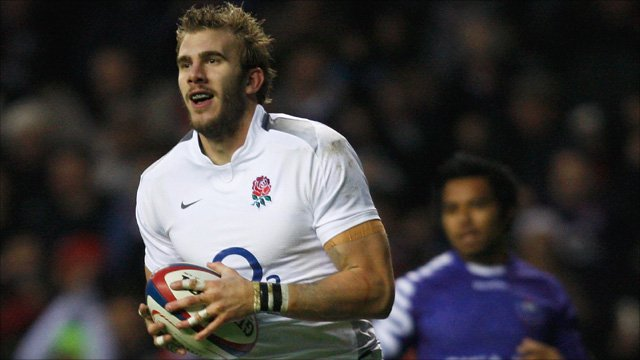 Tom Croft of England