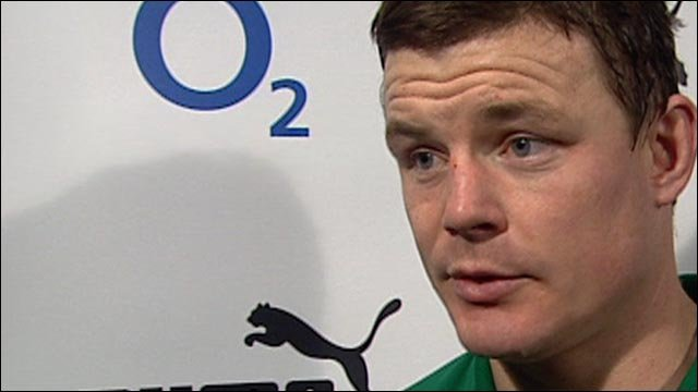 Ireland captain Brian O'Driscoll focuses on positives