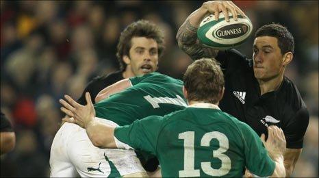 Brian O'Driscoll in action