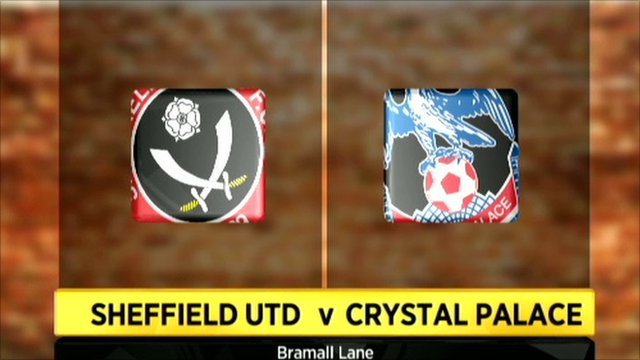 Sheffield United 3-2 Crystal Palace